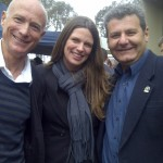 Simon Pisoni, Kate Ellis and Bill Miropoulos