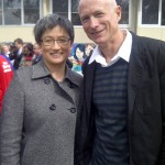Simon Pisoni and Penny Wong